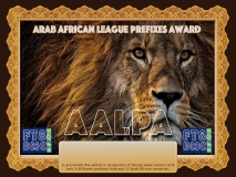 AALPA Award Manager A92AA In recognition of international two-way FT8 amateur radio communication, the FT8 Digital Mode Club (FT8DMC) issues Arab-African-League-Prefixes-Award certificates to amateur radio stations and SWL of the world. Qualification for the FT8 AALPA award is based on an examination by the FT8 AALPA Award Manager. The applicant has to prove that he has made contact with amateur radio stations with minimum of 5 different prefixes from any 11 Arab African countries. DXCCS: 3V, 5A, 5T, 7O, 7X, CN, D6, E3, J2, ST, SU, T5. All contacts must be made from the same country (DXCC-entity).