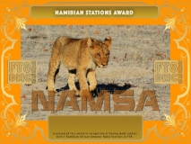 NAMSA Award Manager A92AA In recognition of international two-way FT8 amateur radio communication, the FT8 Digital Mode Club (FT8DMC) issues Namibian-Stations-Award certificates to amateur radio stations and SWL of the world. Qualification for the FT8 NAMSA award is based on an examination by the FT8 NAMSA Award Manager. The applicant has to prove that he has made contact with at least 3 different amateur radio stations from Namibia. All contacts must be made from the same country (DXCC entity).