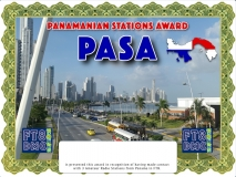 PASA Award Manager DJ6OI In recognition of international two-way FT8 amateur radio communication, the FT8 Digital Mode Club (FT8DMC) issues Panamanian-Stations-Award certificates to amateur radio stations and SWL of the world. Qualification for the FT8 PASA award is based on an examination by the FT8 PASA Award Manager. The applicant has to prove that he has made contact with at least 3 different amateur radio stations from Panama. All contacts must be made from the same country (DXCC entity).