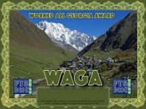 WAGA Award Manager 9K2OW In recognition of international two-way FT8 amateur radio communication, the FT8 Digital Mode Club (FT8DMC) issues Worked-All-Georgia-Award certificates to amateur radio stations and SWL of the world. Qualification for the FT8 WAGA award is based on an examination by the FT8 WAGA Award Manager. The applicant has to prove that he has made contact with at least 2 different amateur radio stations from Georgia. All contacts must be made from the same country (DXCC entity)