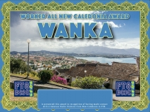 WANKA Award Manager ZL1MVL In recognition of international two-way FT8 amateur radio communication, the FT8 Digital Mode Club (FT8DMC) issues Worked-All-New Caledonia-Award certificates to amateur radio stations and SWL of the world. Qualification for the FT8 WANKA  award is based on an examination by the FT8 WANKA Award Manager. The applicant has to prove that he has made contact with at least 2 different amateur radio stations from New Caledonia. All contacts must be made from the same country (DXCC entity)