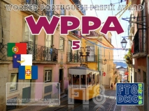 WPPA Award Manager OE1SGU In recognition of international two-way FT8 amateur radio communication, the FT8 Digital Mode Club (FT8DMC) issues Worked-Portuguese-Prefix-Award certificates to amateur radio stations of the world. Qualification for the FT8 WPPA award is based on an examination by the FT8 WPPA Award Manager, from QSOs that the applicant has made contact with portuguese amateur stations from minimum 5 worked Portuguese Prefixes. All contacts must be made from the same country. Portugal - CQ7 CR5 CR6 CR7 CS1 CS2 CS7 CT1 CT2 CT4 CT5 CT6 CT7 Azores - CQ8 CU1 CU2 CU3 CU4 CU5 CU6 CU7 CU8 CU9 CR1 CR2 CS8 CT8 Madeira - CQ3 CQ9 CR3 CR9 CS3 CS9 CT3 CT9. Levels: 5, 10, 20, 30 Band endorsements for 2,4, 6, 10, 12, 15, 17, 20, 30, 40, 60, 80 and 160m available.