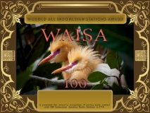 WAISA Award Manager YE1AR In recognition of international two-way FT8 amateur radio communication, the FT8 Digital Mode Club (FT8DMC) issues Worked-All-Indonesian-Stations-Award certificates to amateur radio stations and SWL of the world. Qualification for the FT8 WAISA award is based on an examination by the FT8 WAISA Award Manager. The applicant has to prove that he has made contact with at least 100 different amateur radio stations from Indonesia. All contacts must be made from the same country (DXCC entity) Levels: 100, 200, 300, 400, 500, 600, 700, 800, 900, 1000